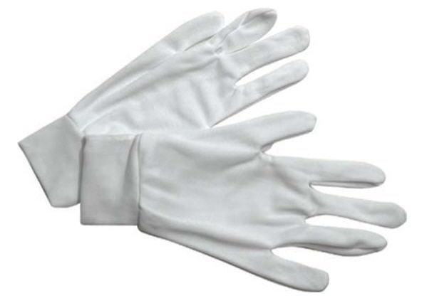 ถุงมือผ้ารัดข้อ