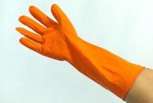 ถุงมือยางราคาถูก