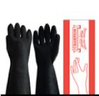 ถุงมือยางสีดำ ตราแชมเปี้ยน