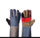 ถุงมือหนังเฟอร์นิเจอร์ หลายสีปะฝ่ามือ แบบยาว