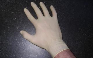 ถุงมือยางธรรมชาติ