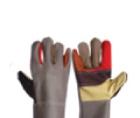 ถุงมือหนังเฟอร์นิเจอร์ หลายสี ปะฝ่ามือ