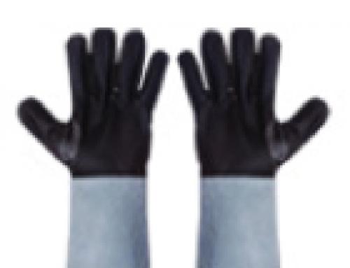 ถุงมือหนังเฟอร์นิเจอร์ 2 ด้าน แบบยาว